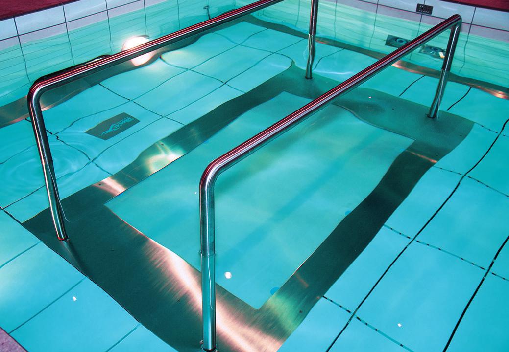 Подводная беговая дорожка Pooltrack Standart